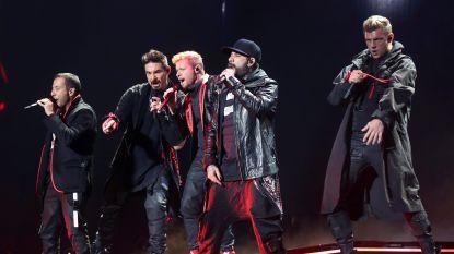 Dit waren de Backstreet Boys in het Sportpaleis