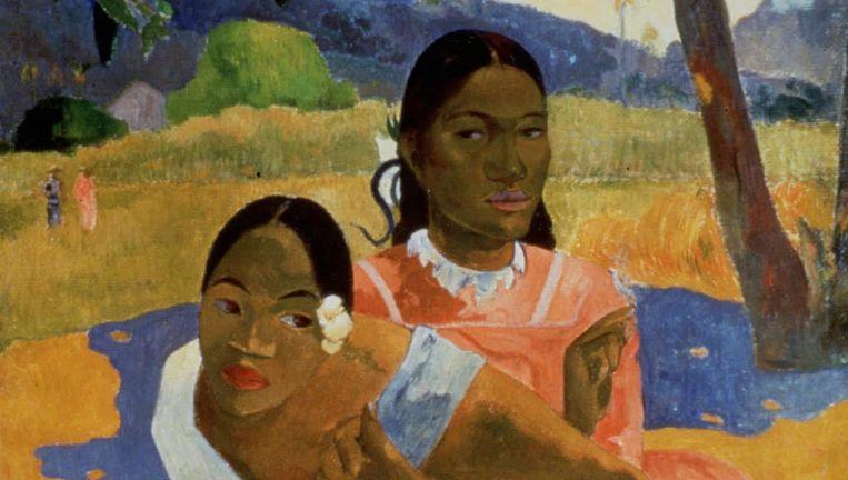 Nafea Faa Ipoipo van Gauguin Beeld