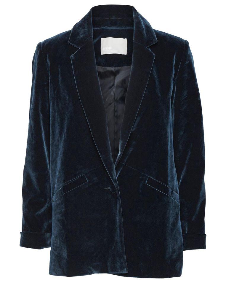 Zeegroen jasje met bijpassende broek van Minimum, € 120 en € 80 Beeld .