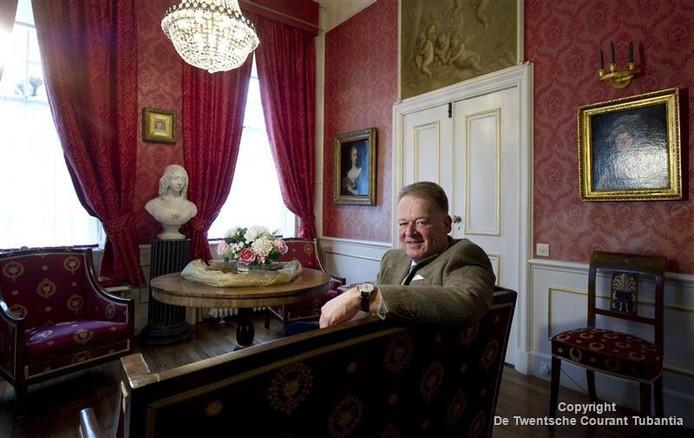 Voormalig burgemeester van Dinkelland, Roel Cazemier.