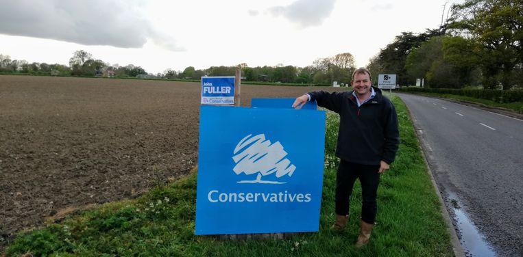 John Fuller, Conservatief en leider van de raad in South-Norfolk:'Je ontmoet veel afkeer als je ergens aan de deur klopt.' Beeld