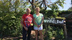 """Kim Clijsters komt tennissen in de tuin van Lionel (73): """"Ik liet haar alle hoeken van het terrein zien"""""""