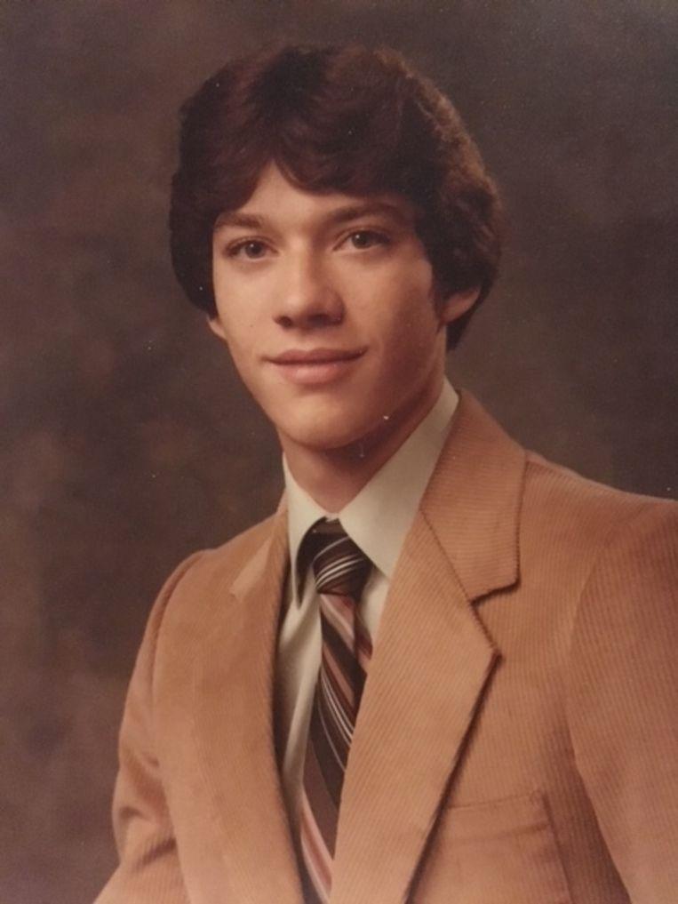 Jim VanSickle als tiener. Beeld Stijn Fens