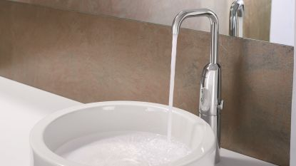 We kiezen steeds vaker voor elektronische kranen in de badkamer