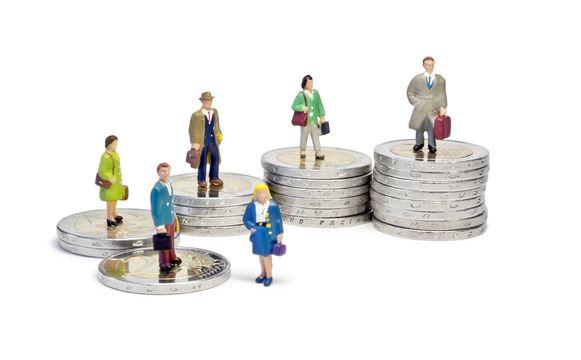 Het merendeel van de bedienden verdient geen 3.510 euro bruto per maand