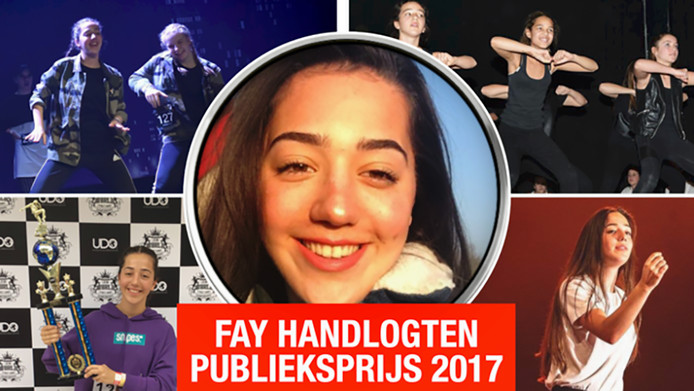 Fay Handlogten. Talent van het jaar 2017