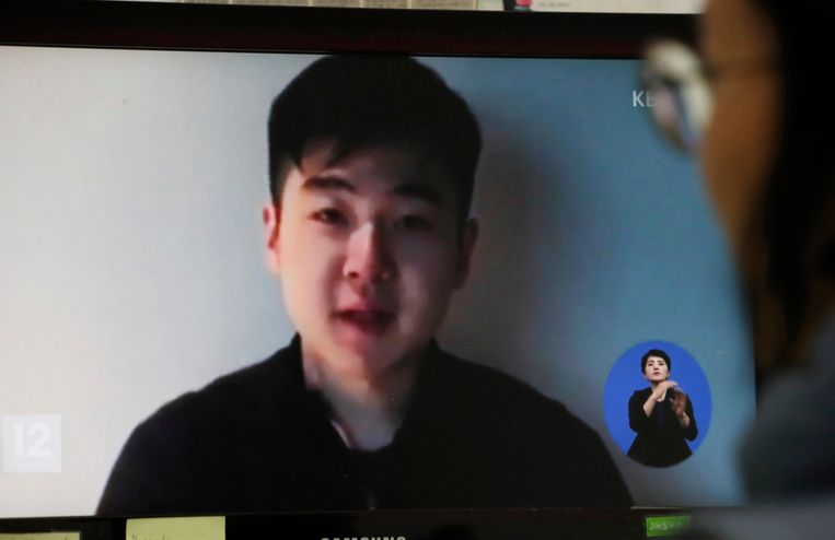 Kim Han-sol, neef van Kim Jong-un, maakt op een Youtube-filmpje van Free Joseon bekend dat hij in veiligheid is.