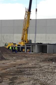 Bouw complex garageboxen op Loven is in volle gang