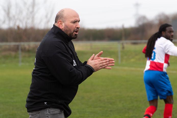 Archiefbeeld van Ahmet Türkücü, coach van Oosterhout.