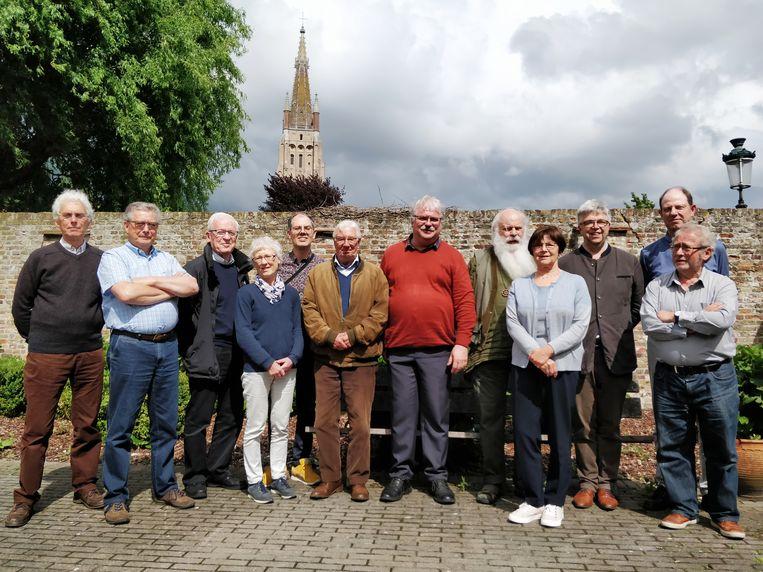 De vrijwilligers starten nu in de Sint-Jozefkerk.