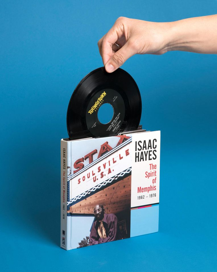 Isaac Hayes: The Spirit Of Memphis 1962-1976. 4 cd's, Stax/Universal. euro 69,99. Beeld null