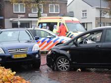 Aanrijding in Moergestel, twee personen gewond