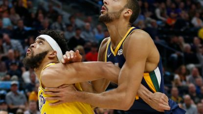 VIDEO. Utah Jazz op drempel van play-offs in NBA na zege tegen LA Lakers