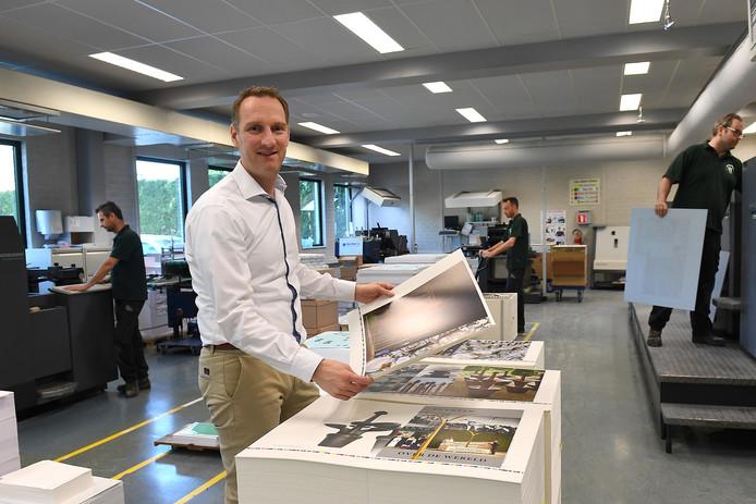 Bij drukkerij Weemen in Haps, waarvan Maarten Weemen (zie foto) mede-directeur is, gaan ze vanaf nu veel meer rekening houden met de wensen van werkende mantelzorgers.