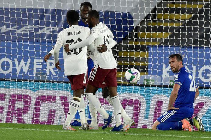 Christian Fuchs was de schlemiel met een eigen doelpunt voor Leicester.