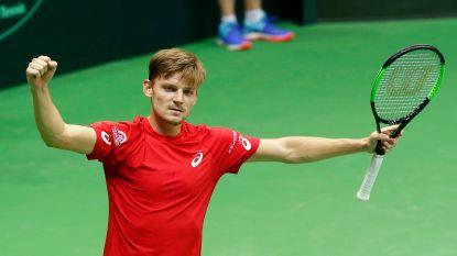 Team Belgium naar kwartfinales! Goffin worstelt even met zichzelf, maar wint uiteindelijk van taaie Hongaar