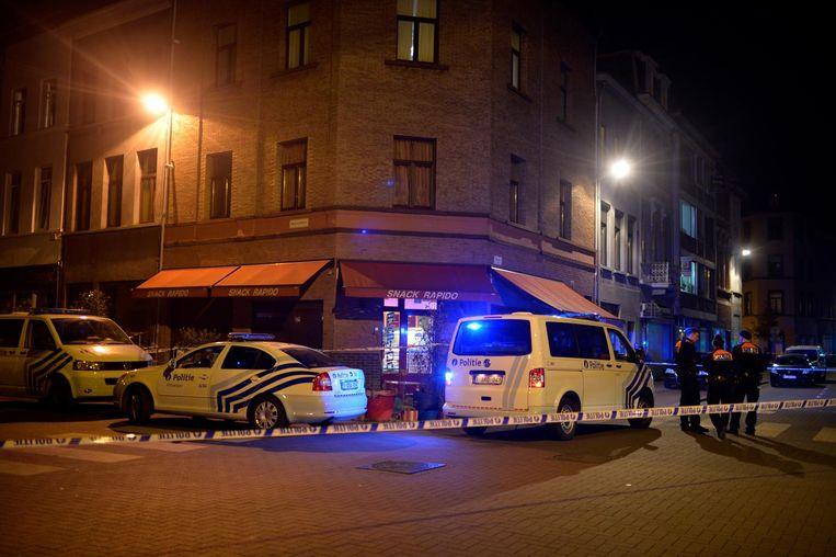 Op 24 november 2014 vond in deze snackbar een schietpartij plaats. Saïd F. en zijn bodyguard Mohammed H. werden later opgepakt in het kader van het onderzoek naar de feiten.