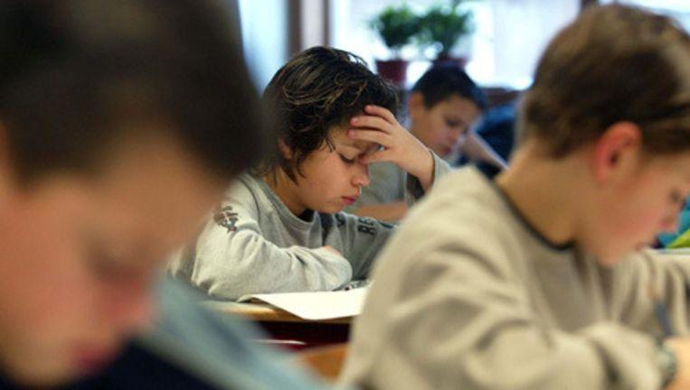 De kwaliteit van het Amsterdamse onderwijs ging de afgelopen jaren vooruit. © anp Beeld