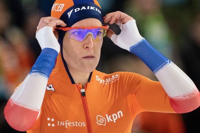 Ireen Wüst doet dit weekend mee aan het NK sprint.