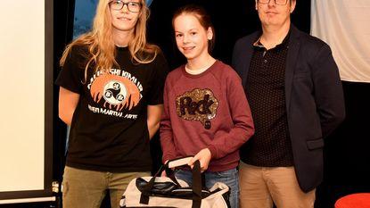 Emma wint zilver op Vlaams Kampioenschap