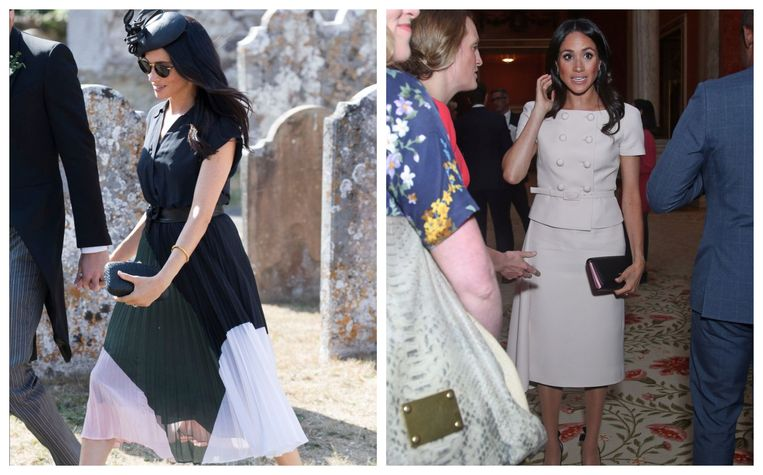 De jurken die Meghan Markle draagt zijn meestal meteen uitverkocht.