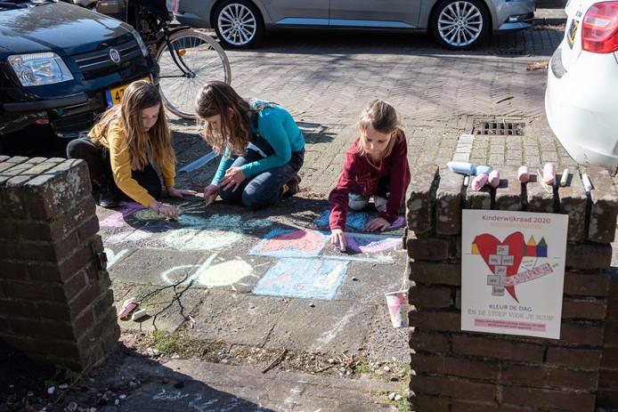 Stoepkrijtactie Soesterkwartier  Verslag: Iris van der Boom