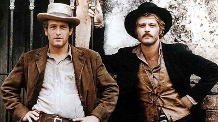 De zwarte cowboyhoed in Butch Cassidy and the Sundance Kid.  Beeld