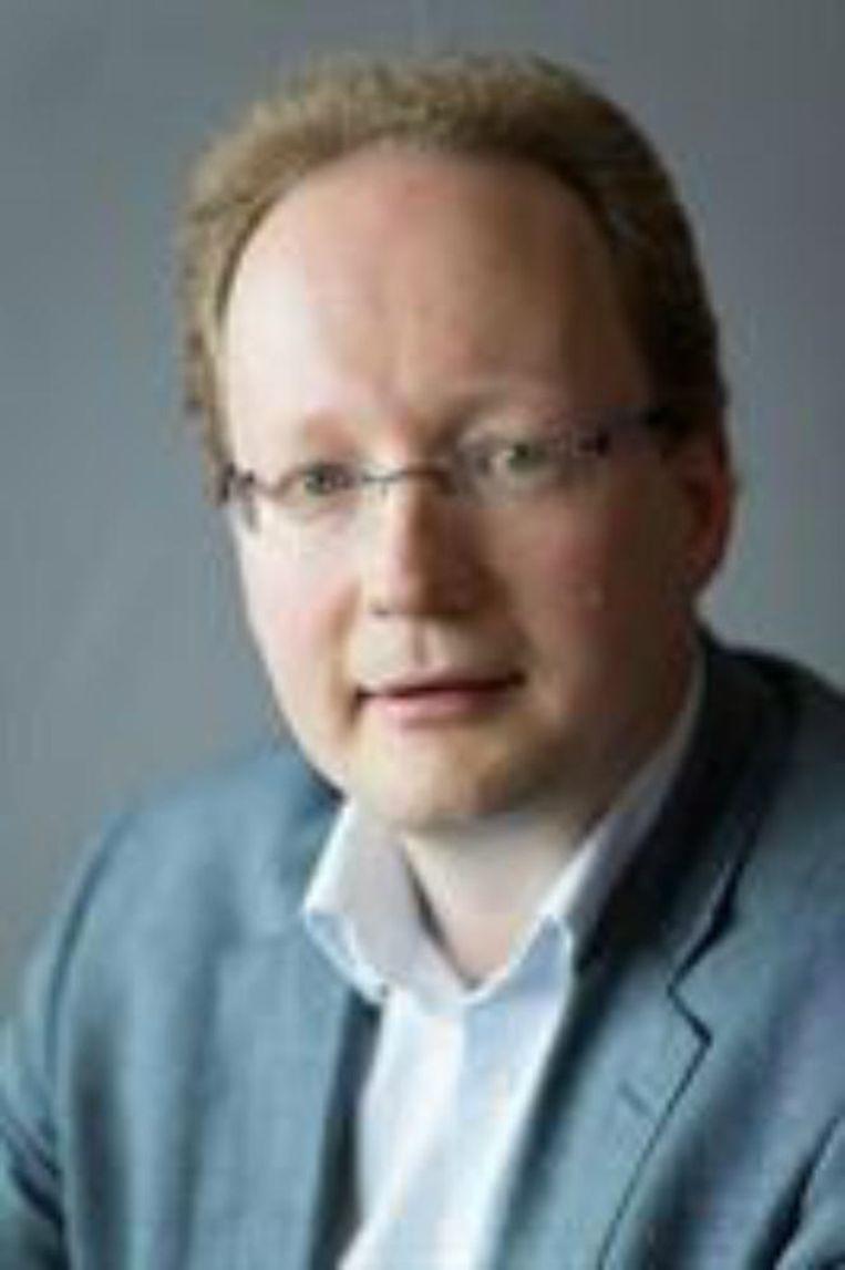 Alexander van Kessel, historicus, onderzoeker en auteur. Beeld