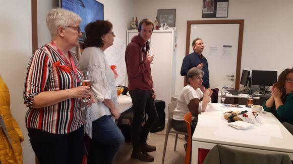 Medewerkers van inloopcentrum De Lange Gaank