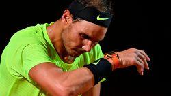 Verrassing in Rome: Nadal gaat eruit in de kwartfinales na verlies in twee sets