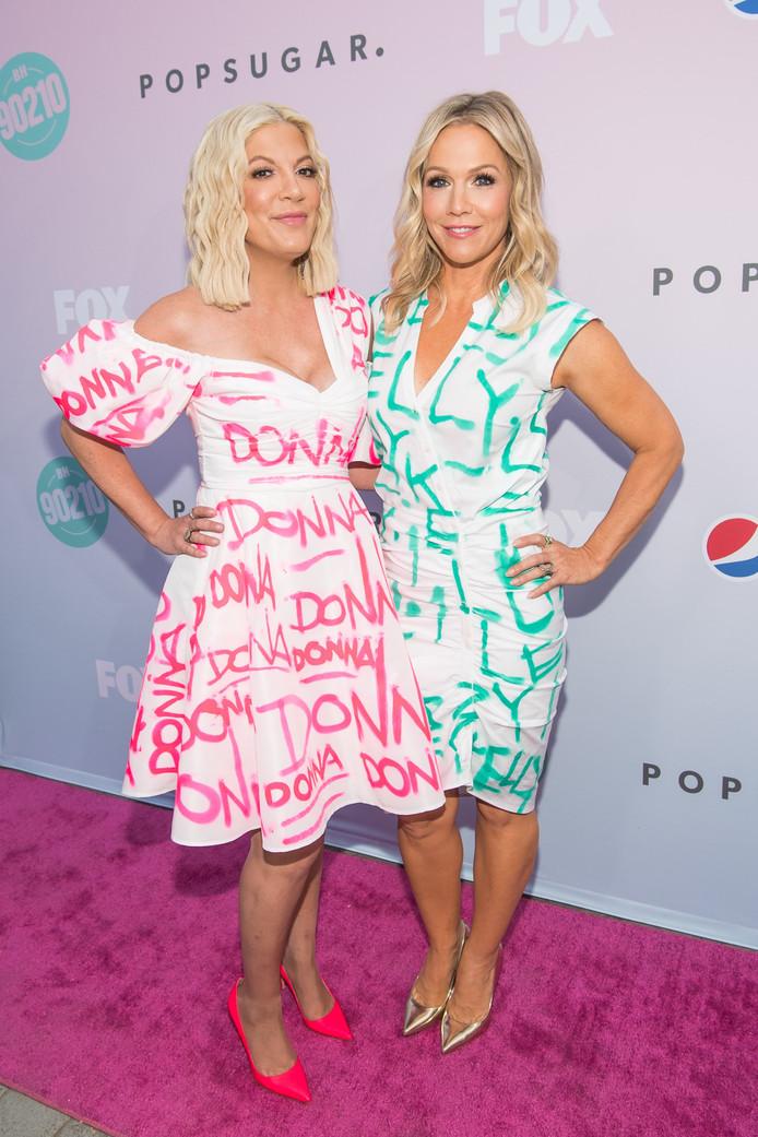 Tori Spelling et Jennie Garth