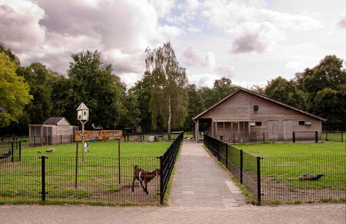 De kinderboerderij op het terrein van 's Heeren Loo in Ermelo.