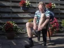 Hoogbejaarde Leo uit Haaksbergen doet mee aan wandelmarathon