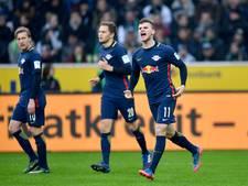 Leipzig steviger op tweede plaats in Bundesliga