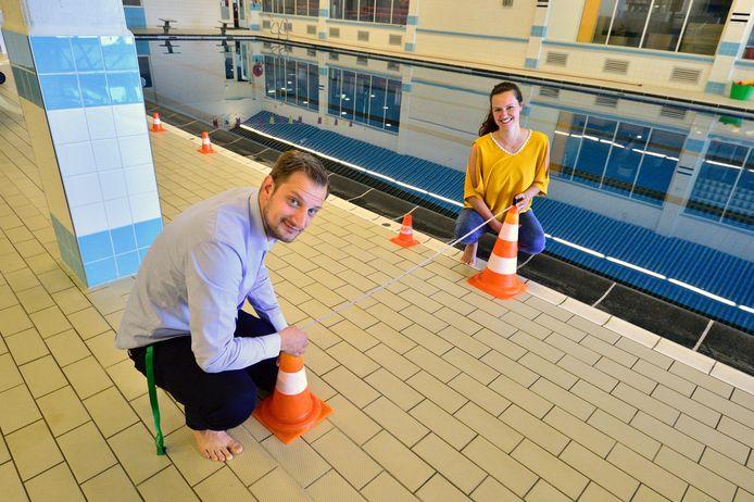 In Zwembad De Zuidplas worden maatregelen genomen.