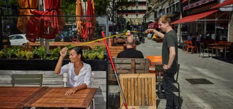 Terrassen worden klaargemaakt, maar nog onduidelijkheid over afsluiting Witte de With