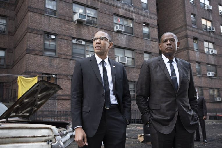 Forest Whitaker (rechts) in Godfather of Harlem. Beeld