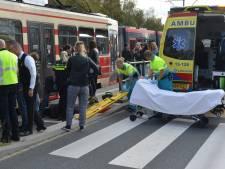 Ongeluk met tram op Leeghwaterplein
