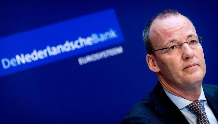 President Klaas Knot van DNB sprak vrijdag op het congres. Beeld anp