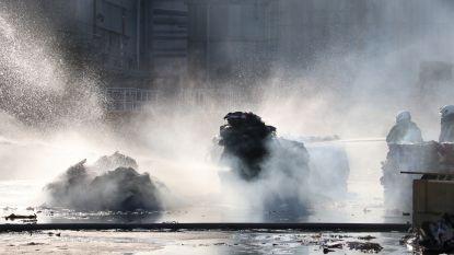Balen papier vatten vuur bij VPK, schade blijft beperkt