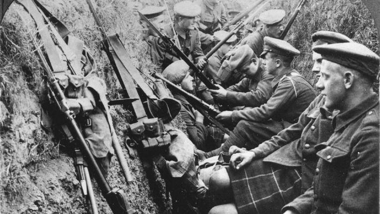 Foto uit de eerste wereldoorlog Beeld ANP