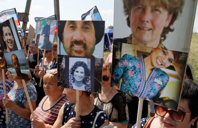 Slachtoffers van de ramp met vliegtuig MH17.