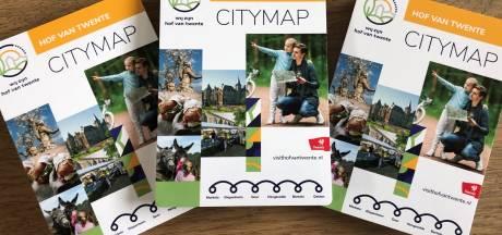 Nieuwe toeristische plattegrond voor Hof van Twente
