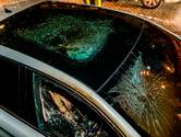 Auto vernield en in brand gestoken in Oosterhout