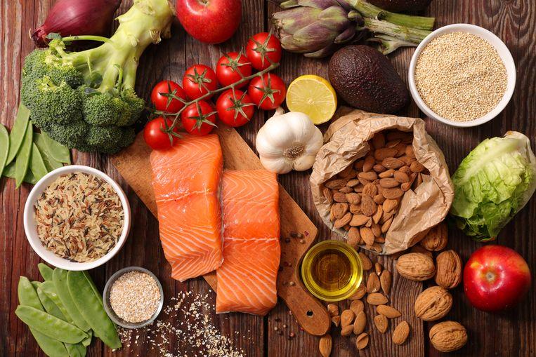 Illustratiebeeld gezonde voeding