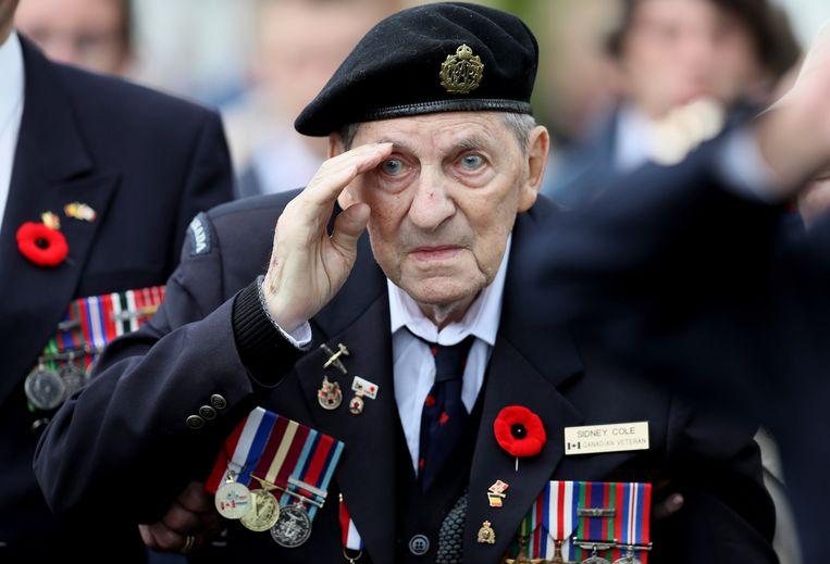 Ondanks zijn val was Sidney Cole begin juni aanwezig bij de grote herdenkingsplechtigheden rond D-day in Normandië.