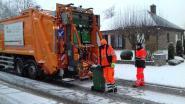 """Sneeuw verstoort afvalophaling in Meetjesland en regio Deinze: """"Haal PMD, papier en karton weer binnen"""""""