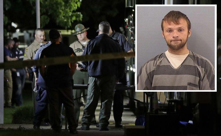 Inzet: de 25-jarige verdachte Michael Cummins (archieffoto) heeft een fors strafblad.