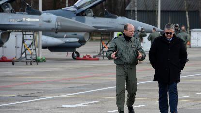 """Vandeput geeft uitleg over F-16-rapport: """"Zware fout dat rapport nooit tot bij mij is geraakt"""""""