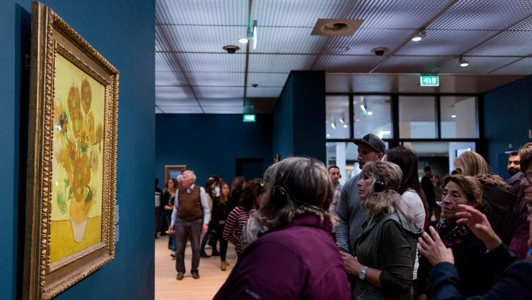 Het Van Gogh Museum in Amsterdam. Beeld anp
